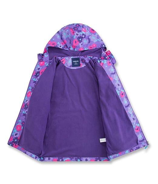 Amazon.com: LOKTARC Girls Fleece Lined Outdoor Windbreaker Light Windproof Jacket with Hood: Clothing