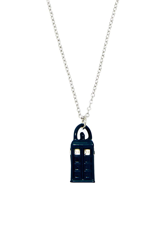 Spirit Doctor Who Enamel Tardis Necklace