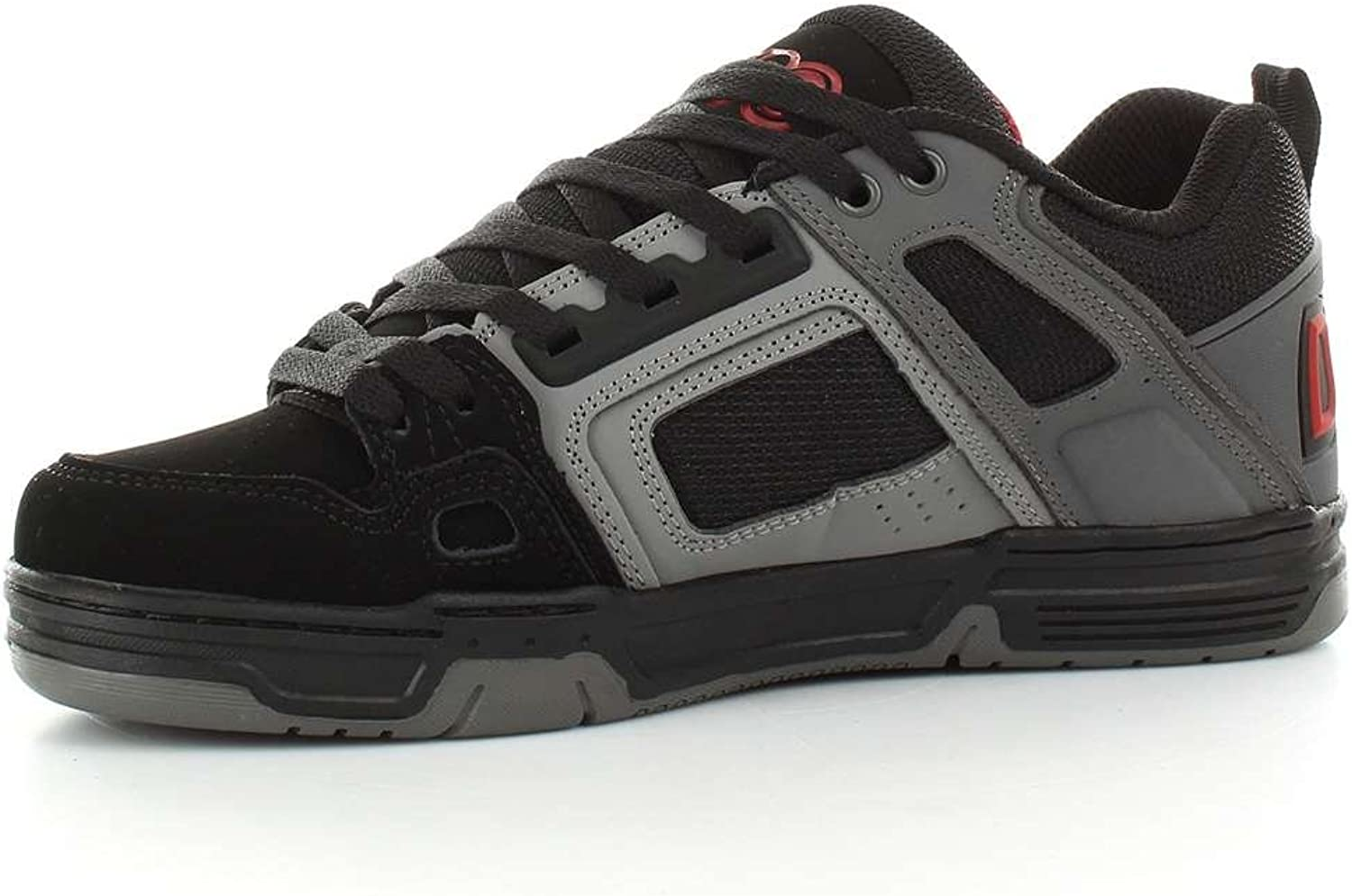 DVS Men's Comanche Skate Shoe Black White
