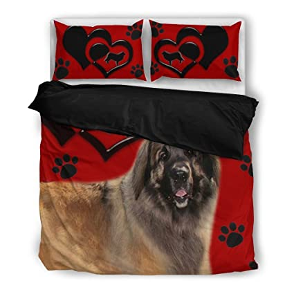 handmade Leonberger cushion cover