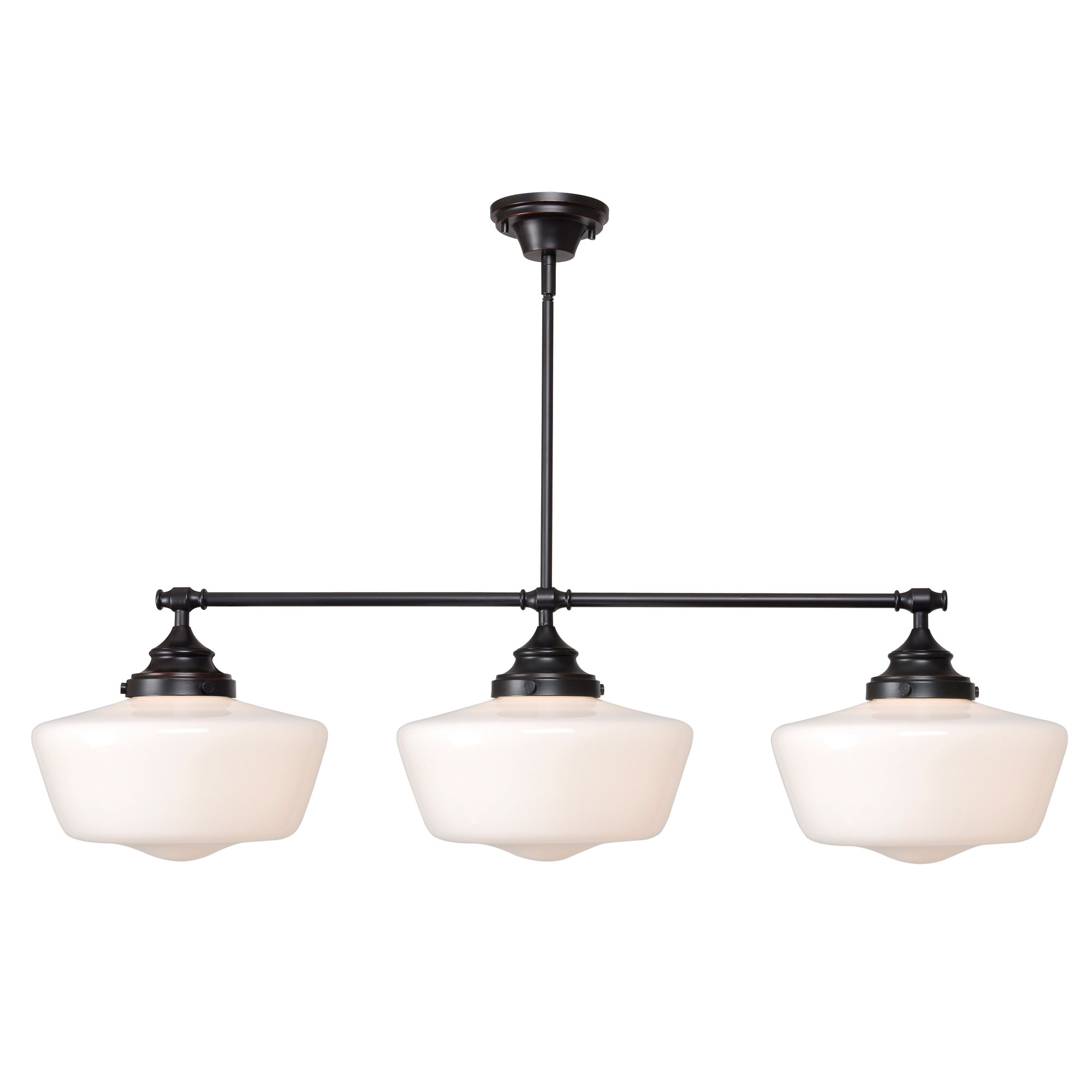 Kenroy Home 93663ORB  Cambridge 3-Light Island Light, Blackened Oil Rubbed Bronze by Kenroy Home
