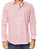 OnsloW Multiple Designs Men's Casual Dress Shirt Long Sleeve Slim Fit Button-Up