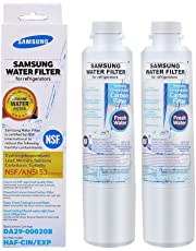 Samsung DA29-00020B, HAF-CIN/EXP Premium Refrigerator Water Filter (White, 2 pack)