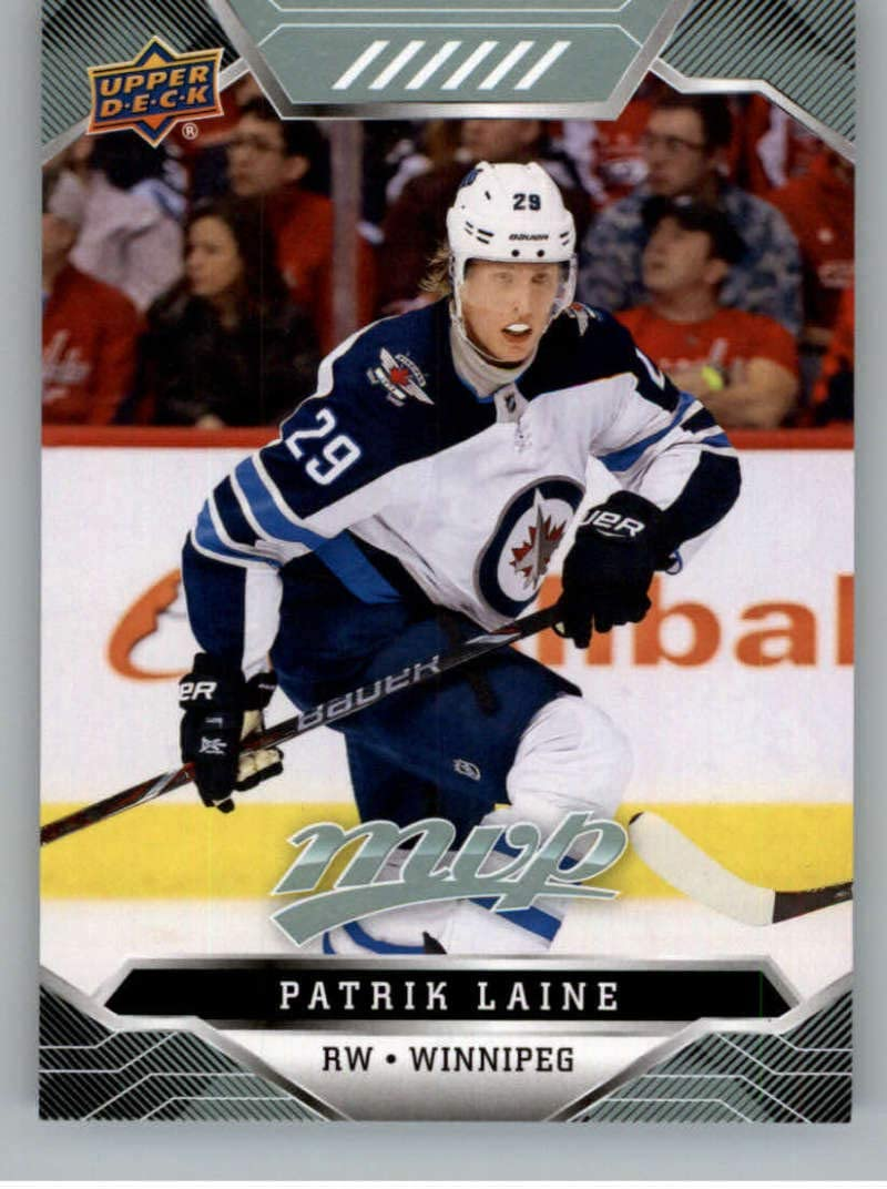 Amazon Com 2019 20 Upper Deck Mvp Hockey 216 Patrik Laine Winnipeg Jets Official Nhl Trading Card From Ud Collectibles Fine Art