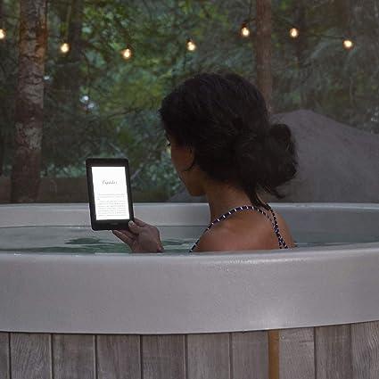 Kindle Paperwhite, para leer incluso dentro del agua.