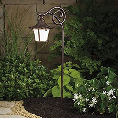 KICHLER Cotswold™ Path and Spread Light-Aged Bronze-16.25W