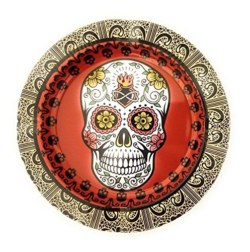 Kalan Sugar Skulls Design -Tin Ashtray