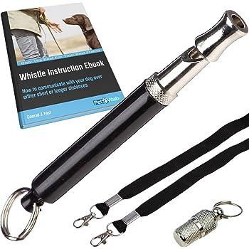 Amazon.com : PetVitalix Dog Whistle to Stop Barking Kit