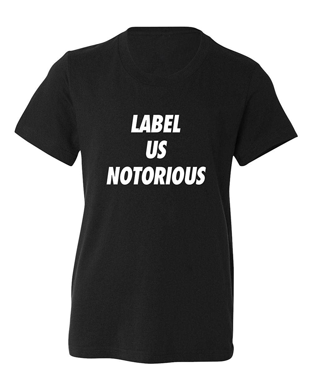 Marky G apparel Boys Label Us Notorious T-Shirt