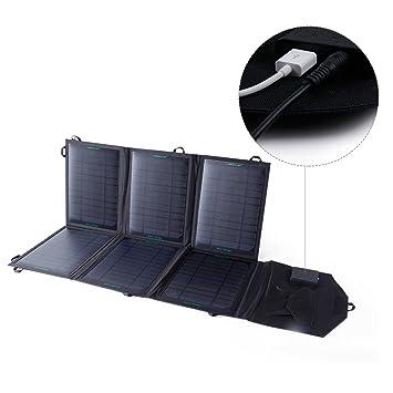 KINGSOLAR Chargeur solaire sortie 39W USB 5V-2.1A/DC sortie 18V ...