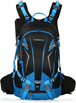 TOMSHOO Mochila Ciclismo 20L/30L Impermeable para Excursionismo ...