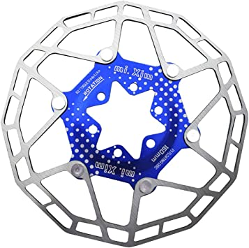 Disco de Freno Multicolor para Bicicleta 160mm - Azul: Amazon.es ...