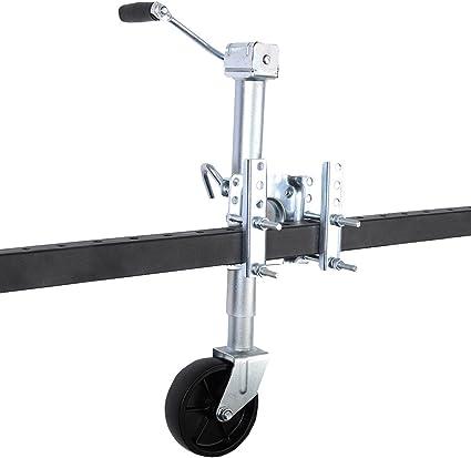 1200 Pounds Swivel Trailer Tongue Jack Boat Camper RV Popup Caster Wheel Fulton