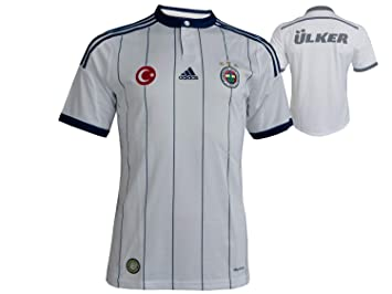 8bbc86571be adidas 2014-2015 Fenerbahce Away Football Soccer T-Shirt  Amazon.co ...