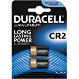 Duracell - Lot de 2 Piles Spéciales Ultra Lithium Appareils Photo - type CR2