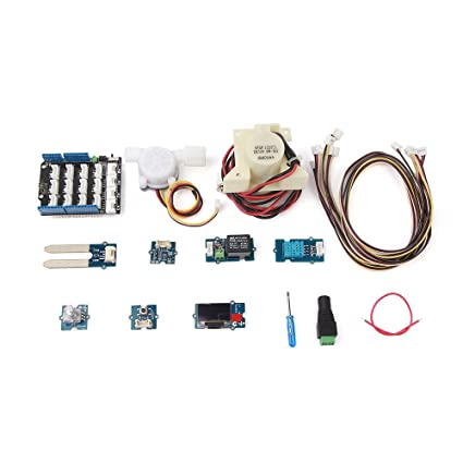 Amazon com : Grove Smart Plant Care Kit for Arduino : Garden & Outdoor