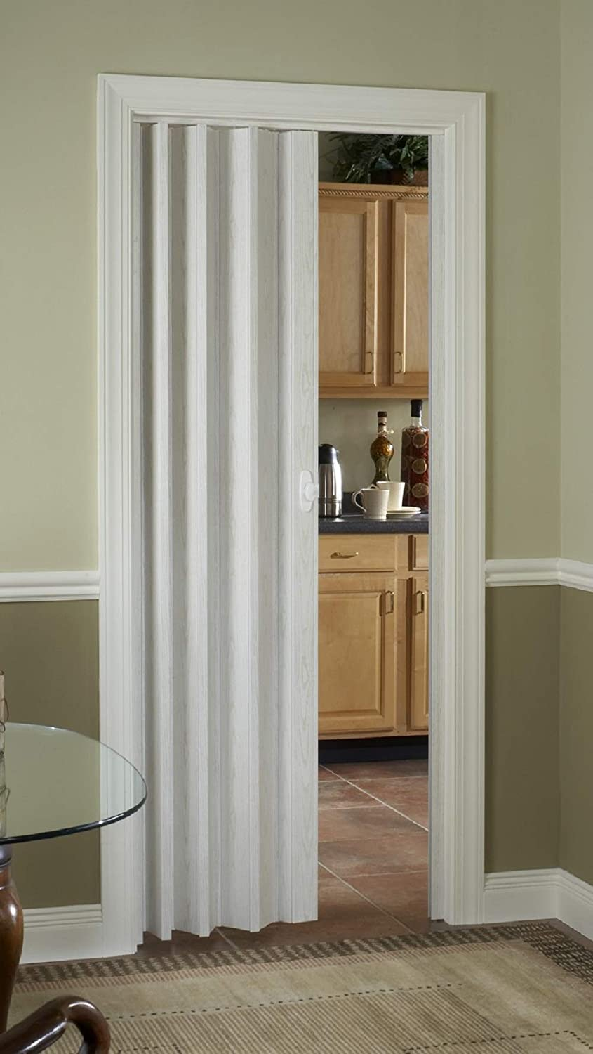LTL Home Products HSROYAL3280WA Royale Interior Folding Accordion Door 36 x 80 Inches White Ash