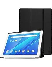 FINTIE Custodia per Lenovo Tab 4 10 - Slim Smart Cover Custodia Protettiva in Pelle PU per Lenovo Tab 4 10 TB-X304F Lenovo Tab 4 10 TB-X304L Tablet, Nero