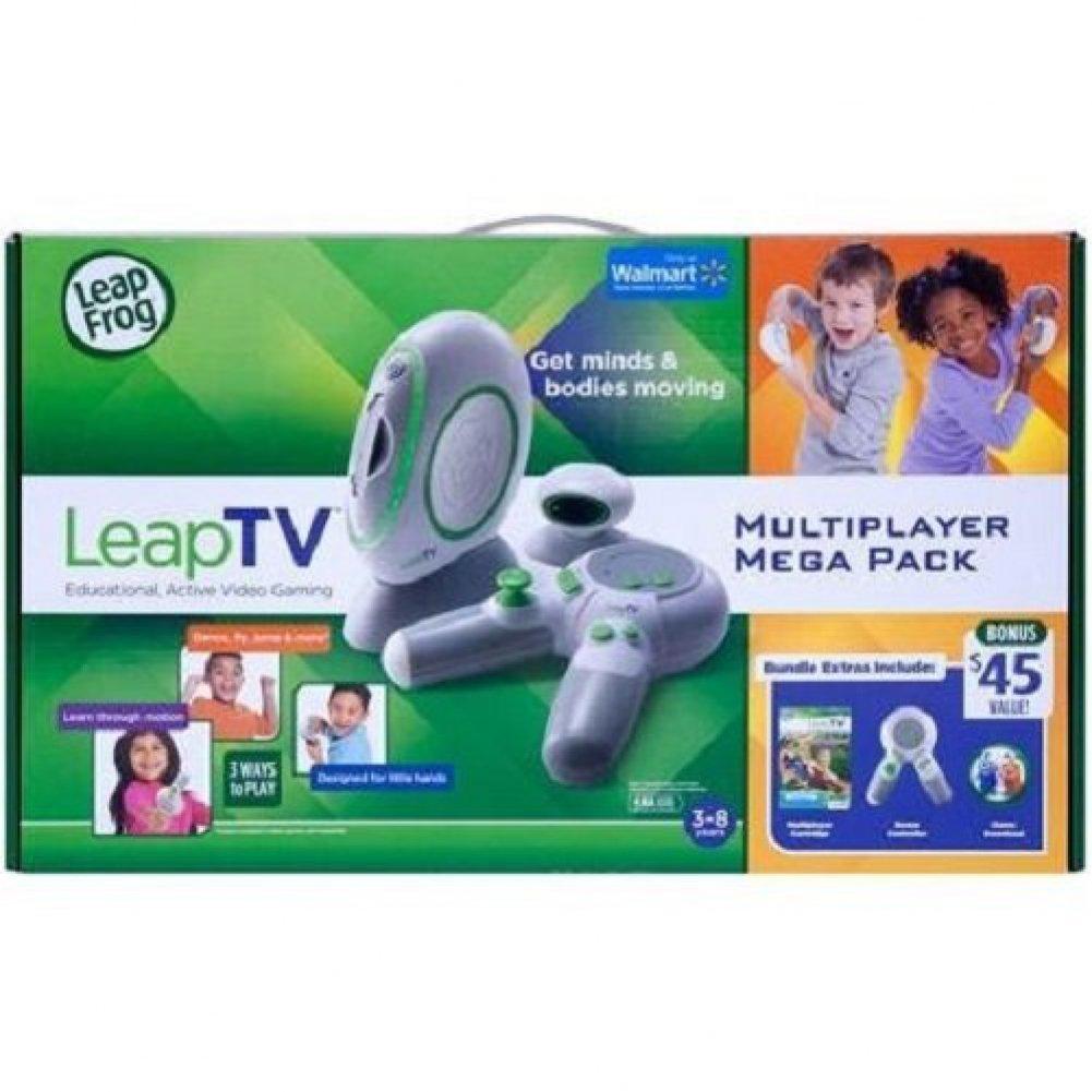 [リープフロッグエンタープライズ]LeapFrog Enterprises LeapFrog LeapTV Educational Active Video Gaming System Multiplayer Mega Bundle [並行輸入品] B00QFN35K8