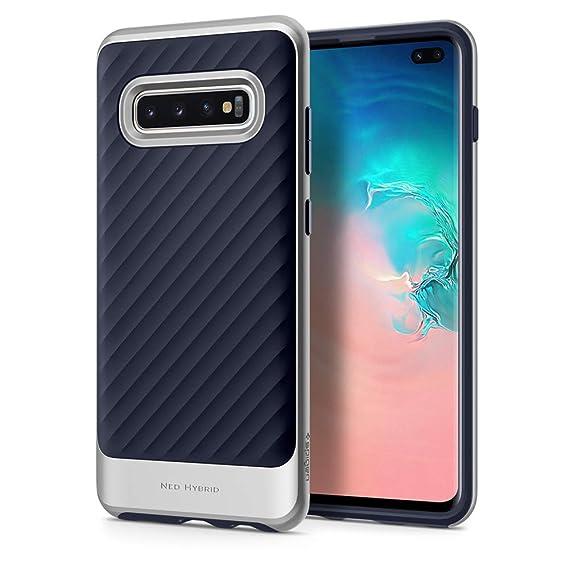 best cheap 704d5 2e01a Spigen Neo Hybrid Designed for Samsung Galaxy S10 Plus Case (2019) - Arctic  Silver