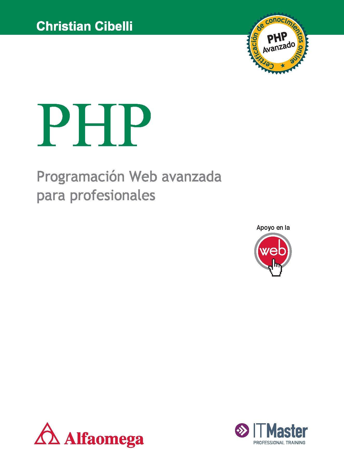 Read Online PHP Programacion Web Avanzada para Profesionales (Spanish Edition) pdf epub