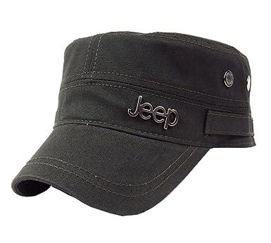 Unisex Military Style Jeep Army Flat CAP Vintage Baseball Cap Sport Sun HAT UK
