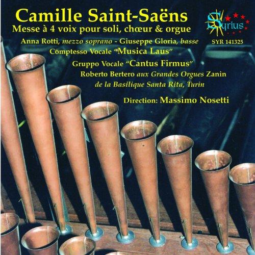 Amazon.com: Messe à 4 voix pour soli choeur et orgue: Sanctus: Massimo Nosetti, Anna Rotti