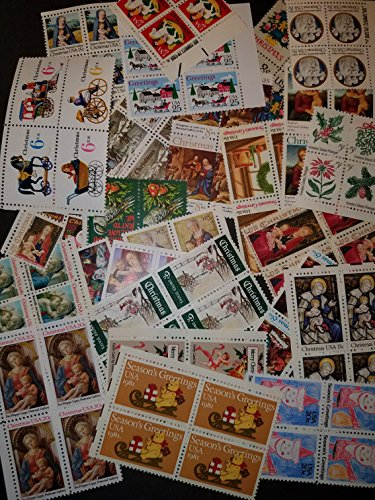 Vintage U.S. Christmas stamps AT FACE VALUE