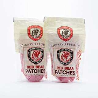 product image for Cherry Republic Red Bear Patches - Resealable Pack Sweet & Sour Chewy Snack - 2-Pack Gift