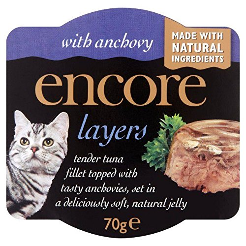 well-wreapped Encore Layers with Tuna & Anchovy Cat Pot 70g