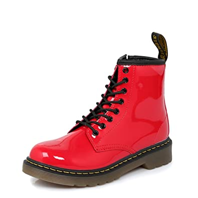 a01a3d9d9e1e Dr Martens Infants Delaney Red Boots-UK 11 Kids  Amazon.co.uk  Shoes   Bags