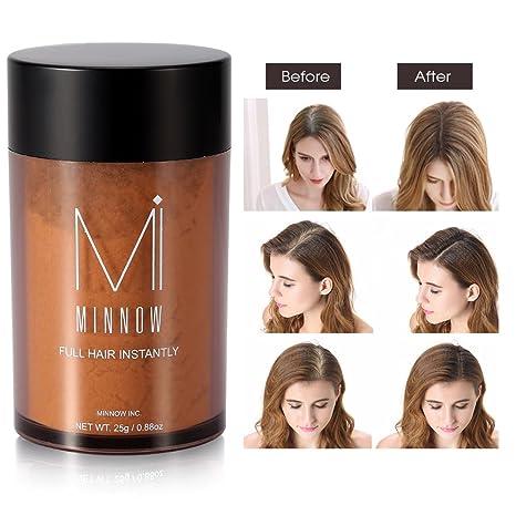 Fibras de pelo, Fibras Capilares a la línea profesional para hombres y mujeres (marrón