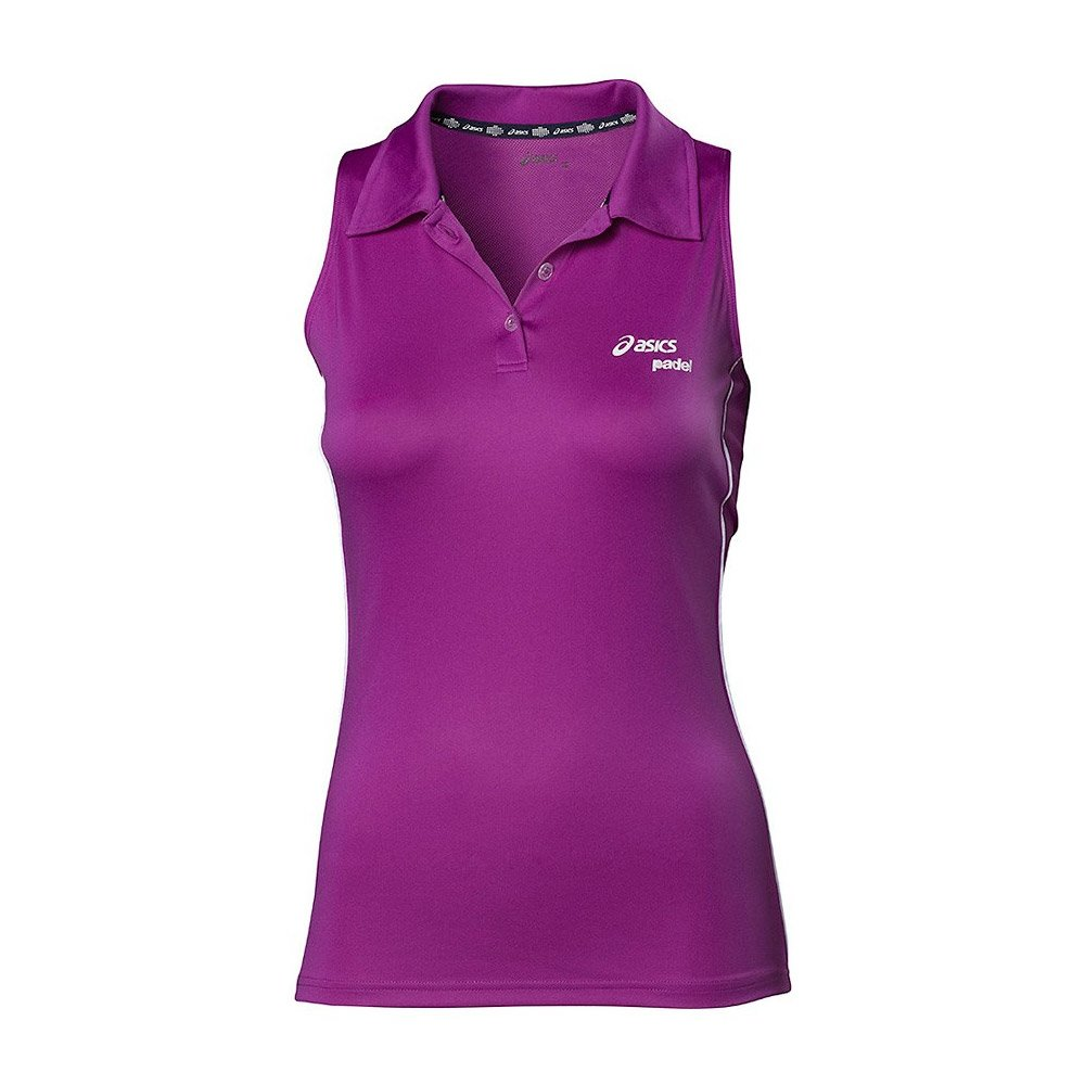 POLO ASICS PADEL SLEEVELESS PURPURA 113431 0272: Amazon.es ...