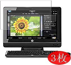 "【3 Pack】 Synvy Screen Protector for HP Omni 100-5000 Desktop / 5050/5052 / 5005la / 5010la / 5015la / 5020br 20"" TPU Flexible HD Film Protective Protectors [Not Tempered Glass]"