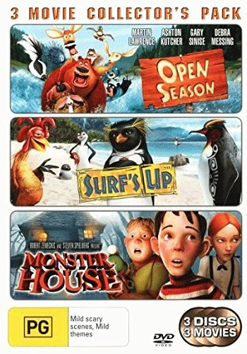 Open Season / Monster House / Surf's Up DVD (Monster House Tv Series)