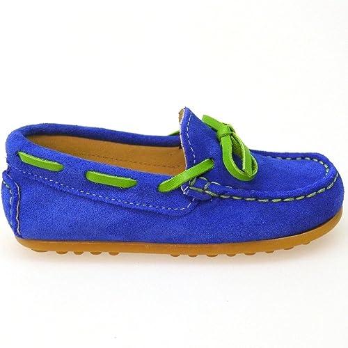 CLARYS Zapatos Niño Mocasines Naúticos N20154 Verde 31 G751H