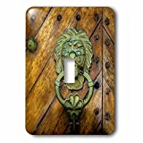 Danita Delimont - Doors - Lion door knocker. Spanish colonial architecture, Colombia. - Light Switch Covers - single toggle switch (lsp_228758_1)