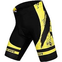 Perfeclan Men's Bike Tights Cycling Riding Gel Padded Short Pants Bicycle Sportswear