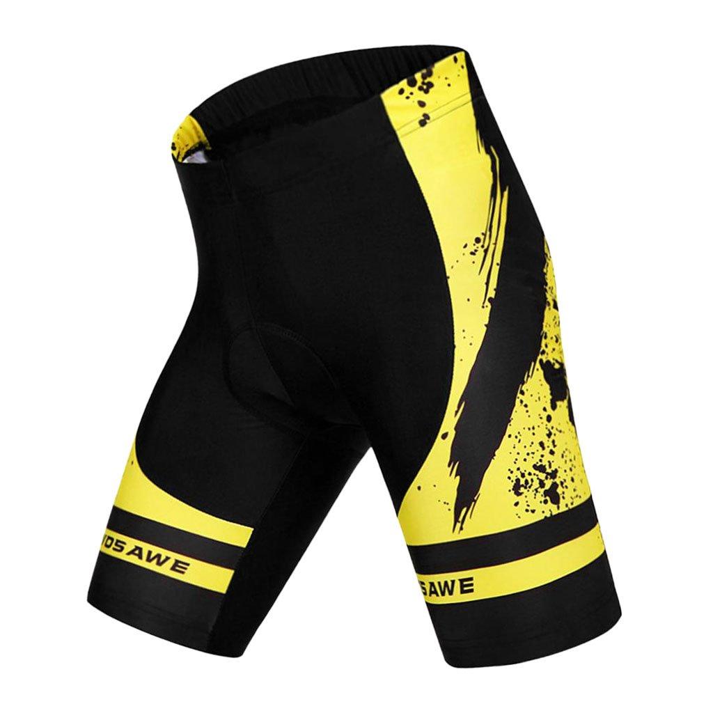 Baoblaze Cuissard Shorts Rembourr/é 3D de V/élo Cyclisme S/échange Rapide Respirant /Élastique Cycling Collants Tights