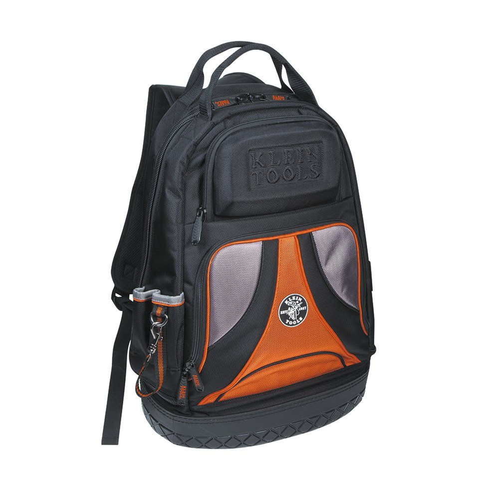 Backpack, Electrician Tool Bag, Tradesman Pro Organizer, 39 Pockets and Molded Base Klein Tools 55421BP-14 by Klein Tools