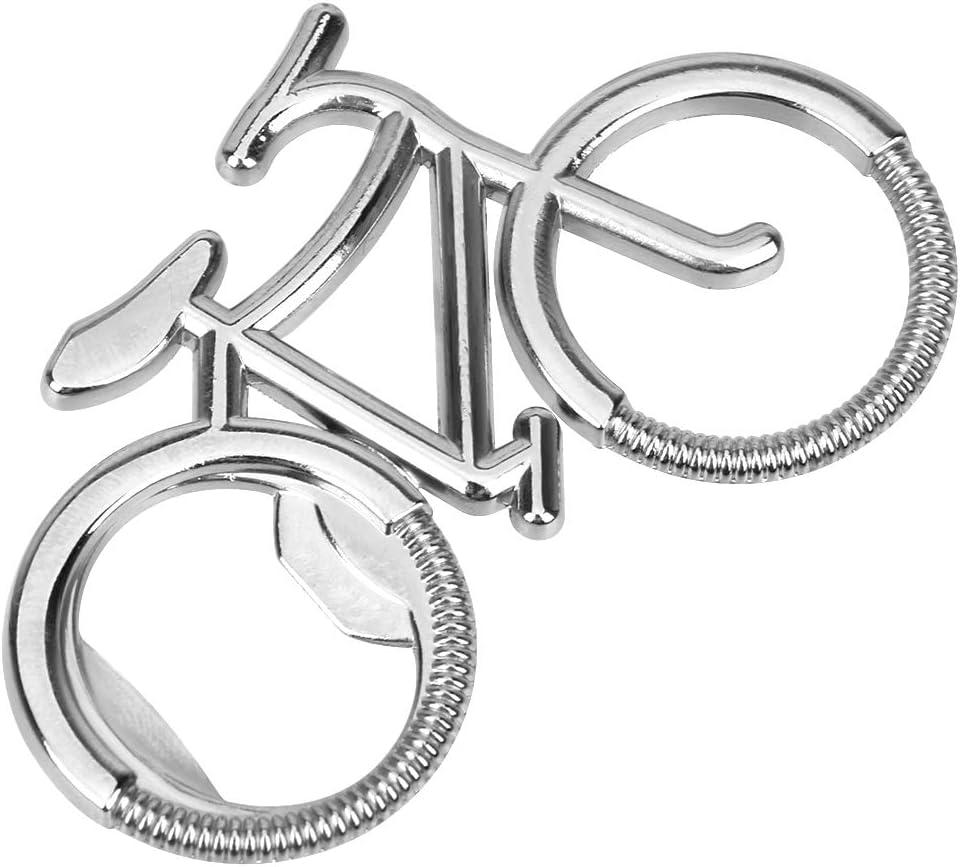 Runy Porte-cl/és d/écapsuleur en Alliage de Zinc en Forme de v/élo