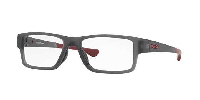 12c2fa61fb Image Unavailable. Image not available for. Color  Oakley - Airdrop  Trubridge - Satin Gray Smoke Frame Only