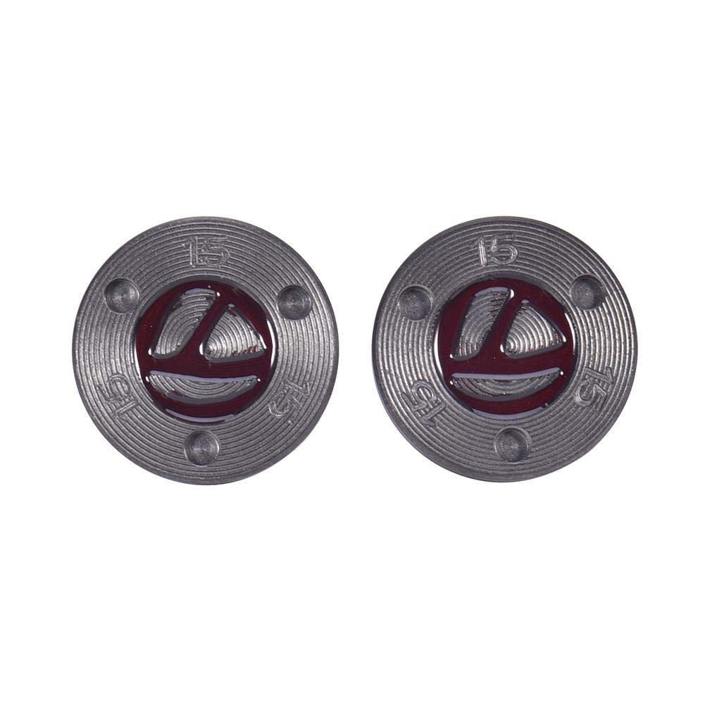 Lorchwise Red 2x15g Golf Putting Putter Counter Weight Screw for Taylormade TP Collection Red Putter Counterweight Accessories(5g 10g 15g 20g) by Lorchwise