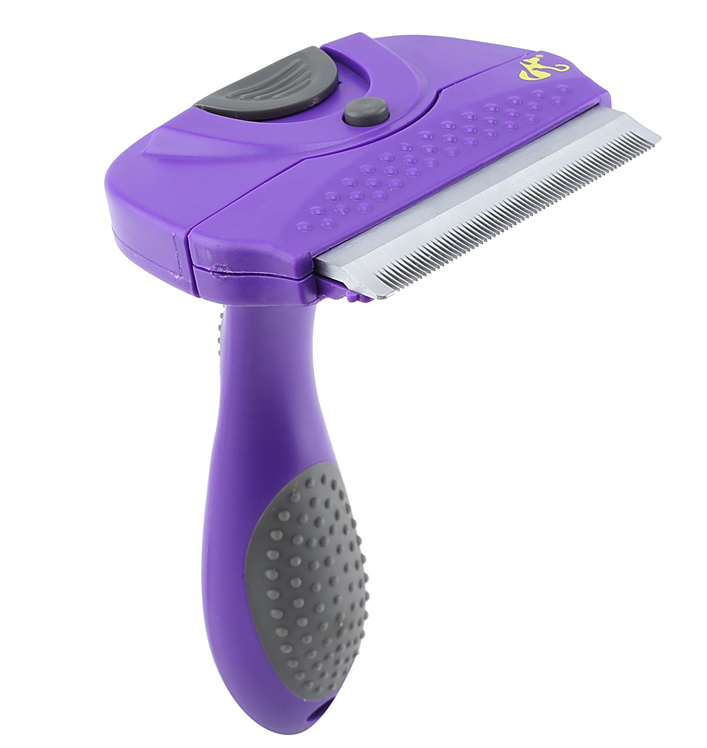 Hertzko Dog Brush & Cat Brush by For Small, Medium & Large Dogs and Cats, With Short to Long Hair. Pet Comb Dramatically Reduces Shedding