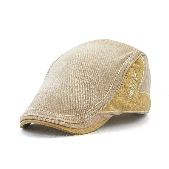 Men Beret Hat Casquette Cap Cotton Hats for Men Visors Casual Sun Hat Gorras Planas Flat