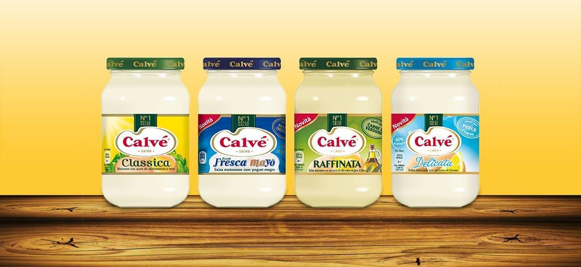Calvé: ''Classica'' Italian Mayonnaise * 20.6 Fluid Ounces (610mL - 580g) Jar * [ Italian Import ]