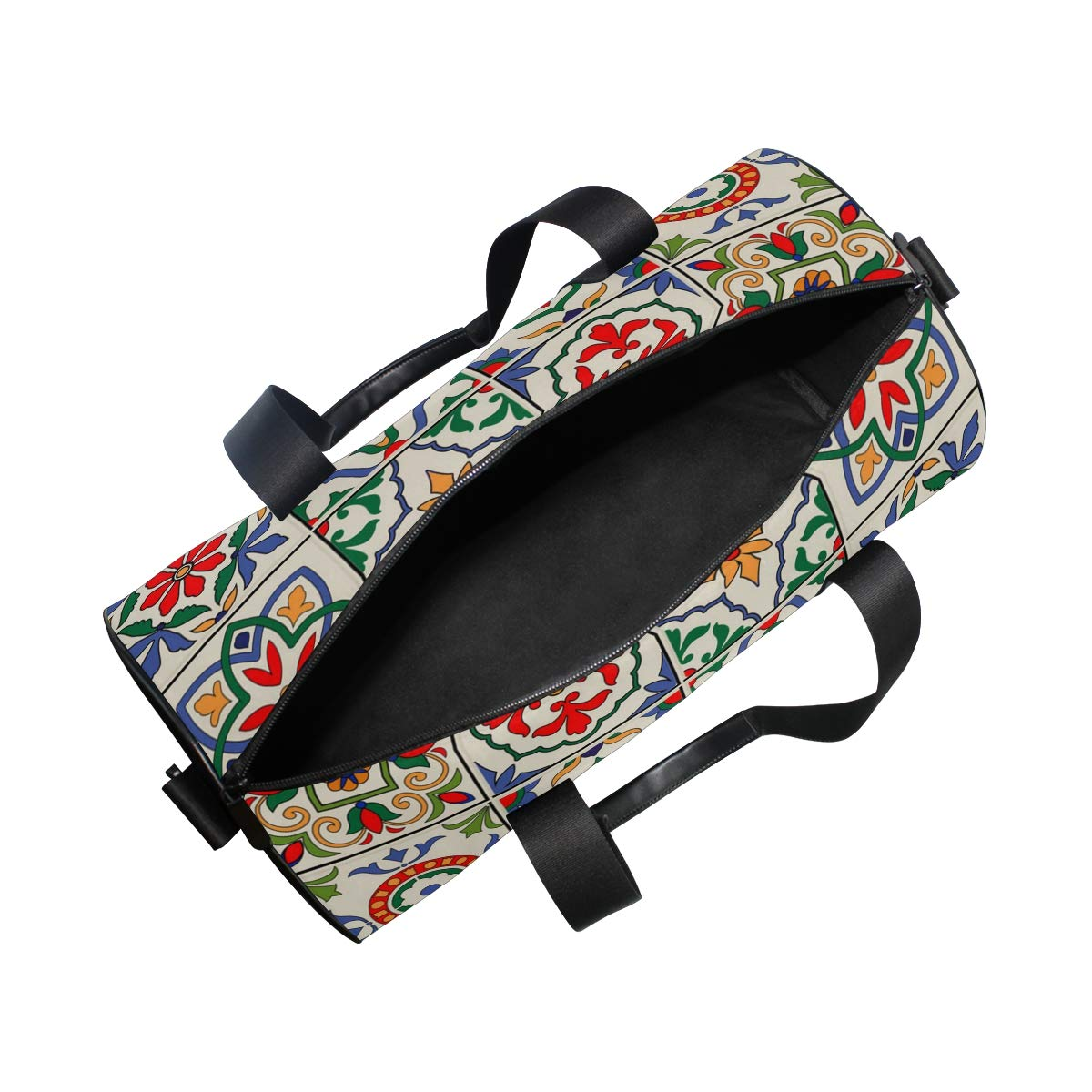 Psychedelic Excellent Ceramic PictureWaterproof Non-Slip Wearable Crossbody Bag fitness bag Shoulder Bag