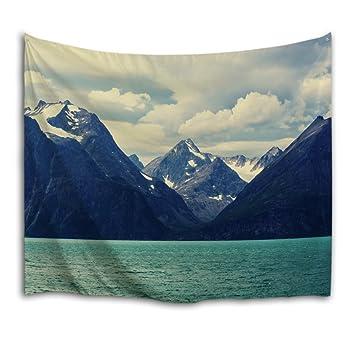 Amazon.de: QIYI innere wand hängen natur-kunst polyester-gewebe ...