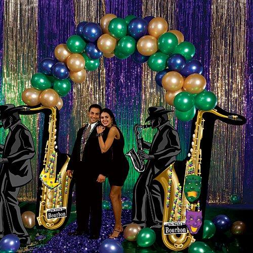 Mardi Gras Balloon Party Prop ()
