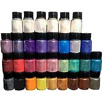 KLOVA 32 Stks DIY Handgemaakte Parelmoer Mica Poeder Epoxy Hars Dye Parel Lijm Pigmenten Materiaal Crystal Mold Zeep…